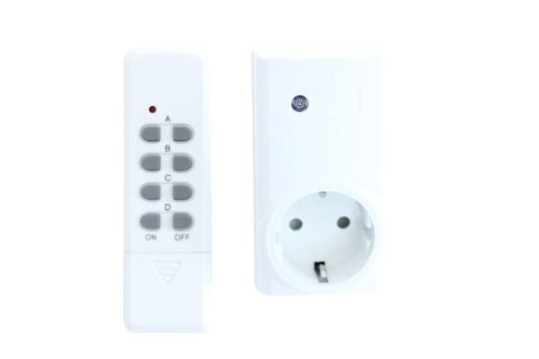 Fernbedienung und Funksteckdose für Osmoseanlage